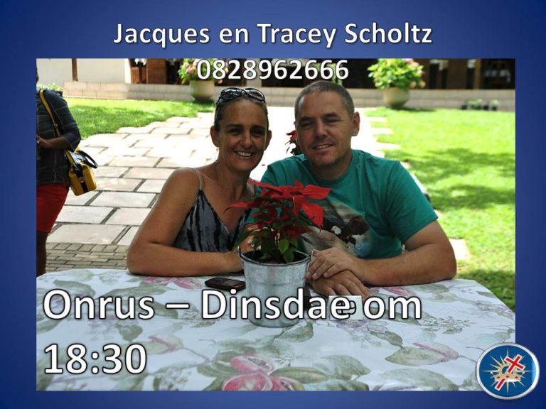 Jacques & Tracey Scholtz